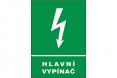 Tabulka Hlavní vypínač elektrického proudu