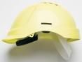 Ochranná průmyslová přilba PROTECTOR STYLE 600 ABS ventilovaná HV žlutá