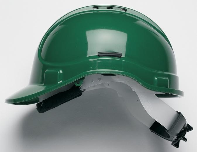 Přilba PROTECTOR STYLE 315 ELITE látkový kříž ventilovaná račna zelená