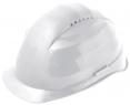 Přilba PROTECTOR STYLE 335 ELITE látkový kříž ventilovaná račna bílá
