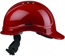 Přilba PROTECTOR STYLE 335 ELITE látkový kříž ventilovaná račna červená