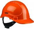 Přilba PROTECTOR STYLE 335 ELITE látkový kříž ventilovaná račna oranžová