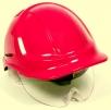 Přilba PROTECTOR STYLE 600 ABS ventilovaná štít červená