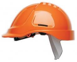 Přilba PROTECTOR STYLE 600 ABS ventilovaná HVoranžová