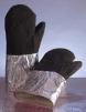 Rukavice palcové pokovené tepluodolné do 1000°C dlouhé