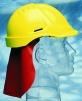 Plachetka ochranná týlní ke přilbě oranžová