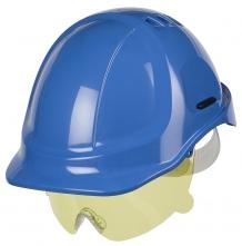 Ochranný oční zorník PROTECTOR s nosním můstkem nemlživý žlutý