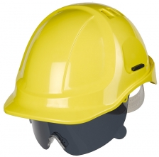 Ochranný oční zorník PROTECTOR s nosním můstkem nemlživý kouřový tónovaný