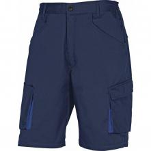 Montérkové kraťasy Bermuda MACH 2 PES/BA šikmé kapsy tmavě modré velikost L