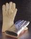 Rukavice prstové pokovené tepluodolné do 600°C dlouhé