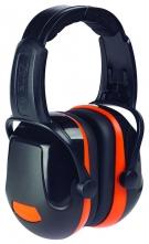 Mušlové chrániče PROTECTOR ZONE 2 Industrial temeno SNR 31 černo/oranžové