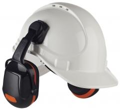Mušlové chrániče sluchu PROTECTOR ZONE 2 na přilbu SNR 29 oranžové