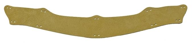 Potní pásek kožený dokola přilby VOSS