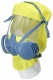 Kukla LITEHOOD pro polomasku SCOTT PROFILE2 žlutá