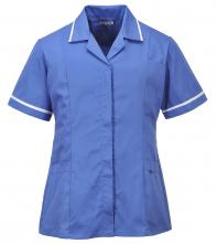 Tunika Classic dámská krátký rukáv středně modrá velikost XL