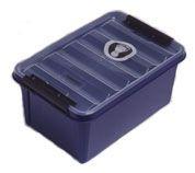 Box Sundström skladovací pro masky nebo polomasky modrý