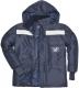 Bunda COLDSHORE mrazírenská kapuce reflexní prvky tmavě modrá velikost XL