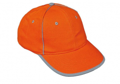 Čepice RIOM reflexní pruh oranžová