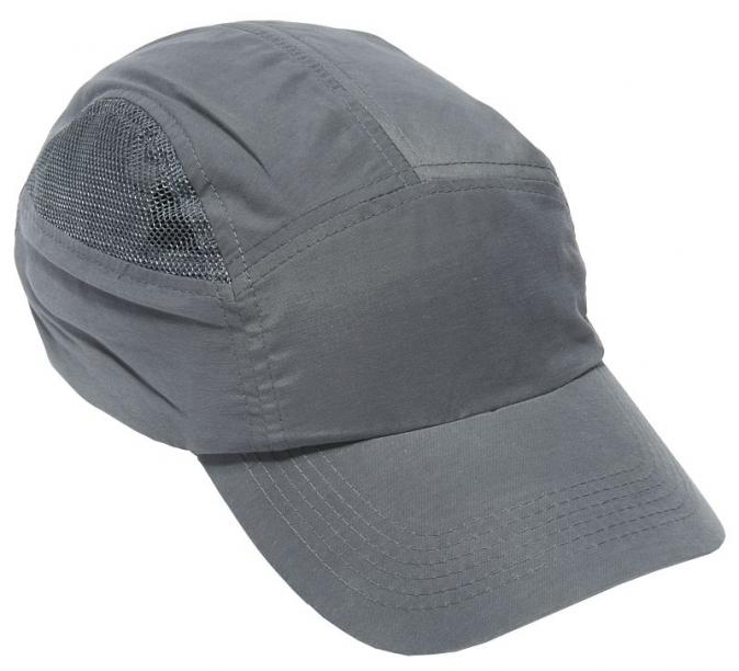 Čepice se skořepinou FIRST BASE CAP+ standardní kšilt šedá