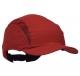 Čepice se skořepinou PROTECTOR FB3 standardní kšilt červená