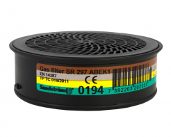 Filtr Sundström SR A1B1E1K1 protiplynový filtr pro masky