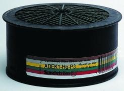 Filtr Sundström SR ABEK1-Hg-P3 kombinovaný pro masky a polomasky