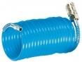 Hadice PU tlaková spirálová vč. rychlospojek s krytem 10m