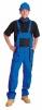 Montérkové kalhoty LUX EMIL s laclem modro/černé velikost 46