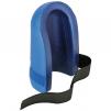 Nákoleník gumový vroubkovaný upevnění na pásek pěnová guma černá