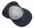 Nákoleník tvarovaný textil/plast suchý zip šedý