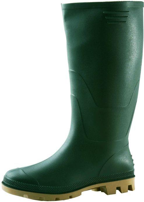Obuv holínka GINOCCHIO PVC zelená velikost 38