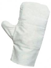 Rukavice CERVA OUZEL palcové režné ztrojená dlaň velikost 10