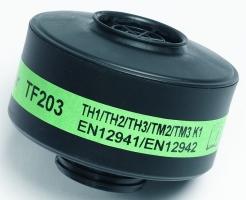 Ochranný protiplynový filtr SCOTT TORNADO typ K1