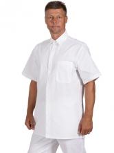 Košile pánská letní lékařská krátký rukáv bílá velikost 42