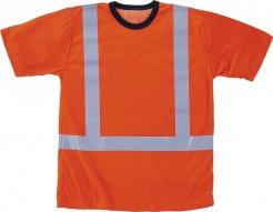 323759afdb2 Triko WALKER krátký rukáv funkční úplet reflexní pruhy vysoceviditelné  oranžové velikost L