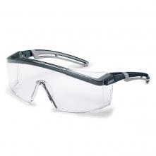 Brýle UVEX ASTROSPEC 2.0 černo/šedý rám povrstvené proti poškrábání čirý zorník