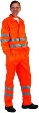 Montérková blůza KOROS výstražné pruhy oranžová velikost 54