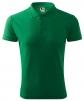 Polokošile PIQUE 200 směsový materiál středně zelená velikost S