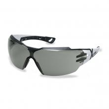 Brýle UVEX X-TREND černé straničky UV filtr protisluneční zorník tónovaný šedý