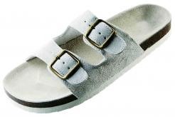 Obuv PUDU pantofle korková podrážka bílé velikost 36