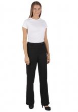 Kalhoty ELIŠKA dámské číšnické černé velikost velikost 40