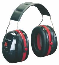 Mušlové chrániče PELTOR OPTIME III H540A-411-SV černo-červené