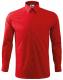 Košile Shirt long sleeve panská dlouhý rukáv červená velikost S