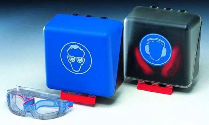 SECUBox střední bezpečnostní schránka na sluchátka modrá