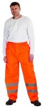 Kalhoty GORDON do pasu polyester potažený PU nepromokavé oranžové velikost L