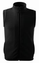Vesta UNISEX NEXT zapínaná na zip fleece černá