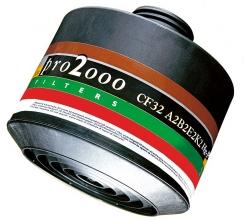 """Filtr SCOTT PRO2000 CF32 A2B2E2K2 HgP3 se závitem 40 mm x 1,7"""""""
