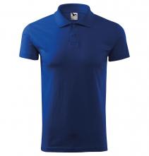 Polokošile Single Jersey 180 krátký rukáv královská modrá