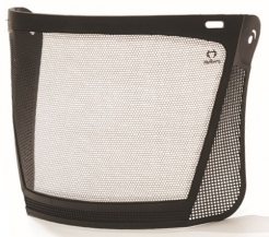Zorník ocelový leptaný 500 x 200 mm na přilbu a ke kombinaci se sluchátky