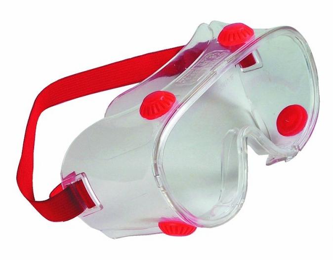 Brýle HOXTON acetát nepřímo větrané čiré